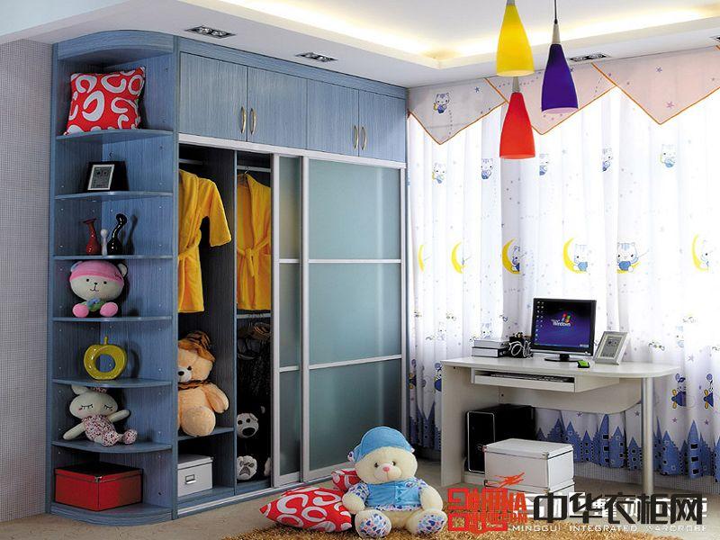 名柜整體衣柜名柜薰衣草兒童房裝飾效果圖現代簡約