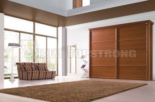 顶固衣柜简欧风格美洲胡桃衣柜装饰效果图欧式风格