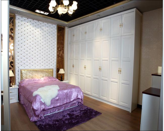 柏莱雅衣柜,柏莱雅衣柜欧式系列装饰效果图欧式风格