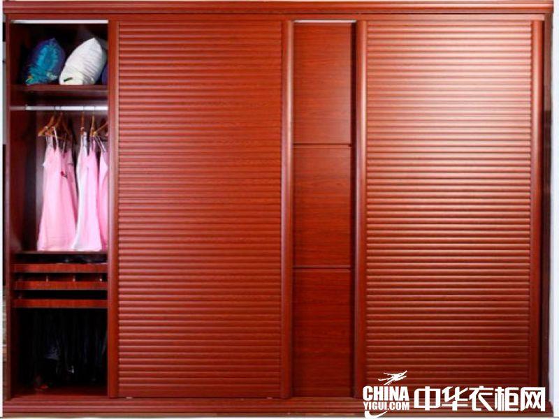 德洛尼衣柜德洛尼苹果木移门衣柜装饰效果图中式风格