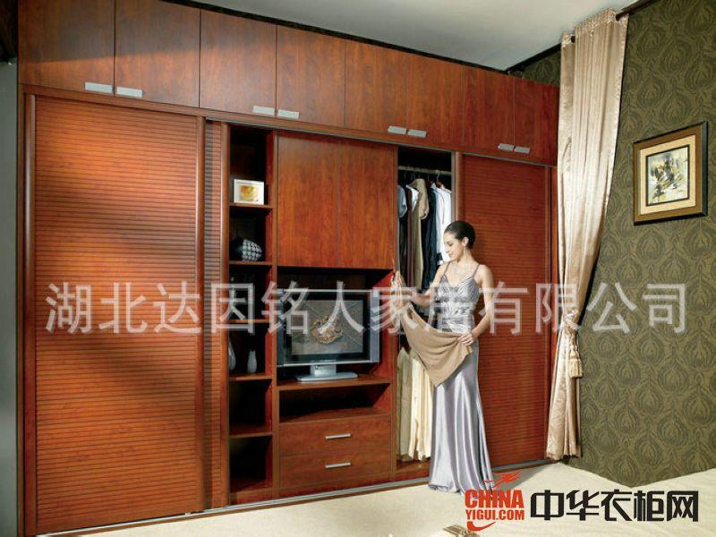 铭人圣马克整体衣柜卧室系列装饰效果图现代简约