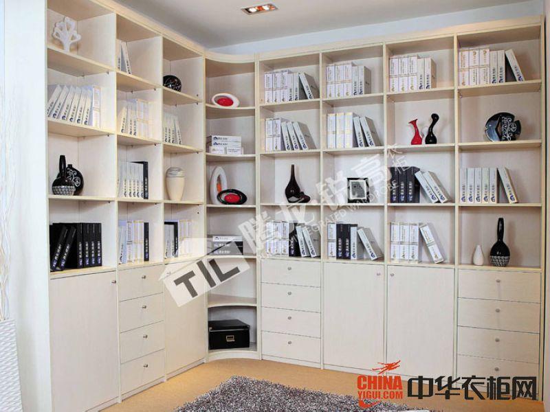 腾龙 锐高衣柜书柜系列装饰效果图现代简约