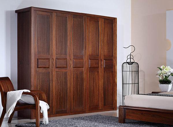 木之本整体衣柜木之本整体衣柜原木胡桃卧室系列古典风格