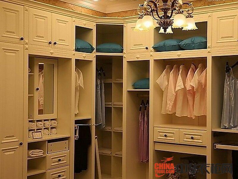 斯玛兰衣柜衣帽间系列装饰效果图欧式风格