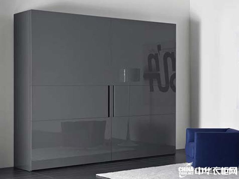 时尚的现代简约风格整体衣柜效果图