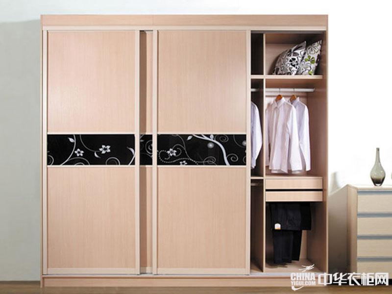 现代简约风格整体衣柜效果图