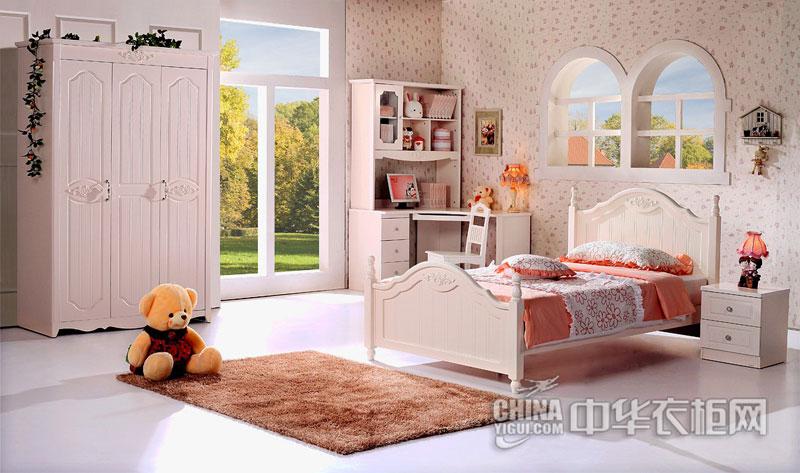 韩式风格卧室装修 板式衣柜效果图