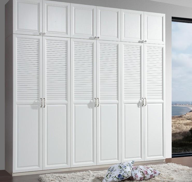 象牙白衣橱柜效果图展示
