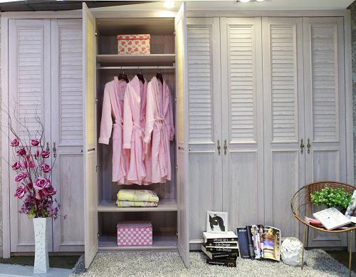 对开门整体衣柜设计图