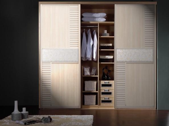 高贵典雅欧式衣柜设计图