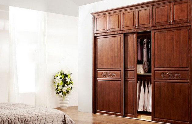 法式移门衣柜效果图 引领家居时尚