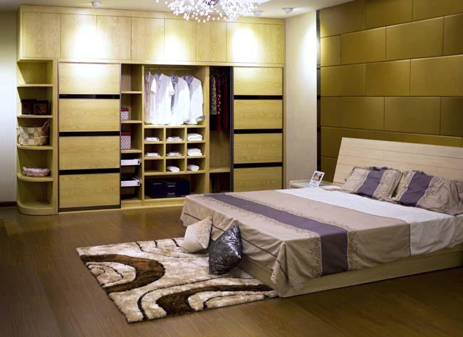 现代转角衣柜设计图 卧室衣柜装修效果图