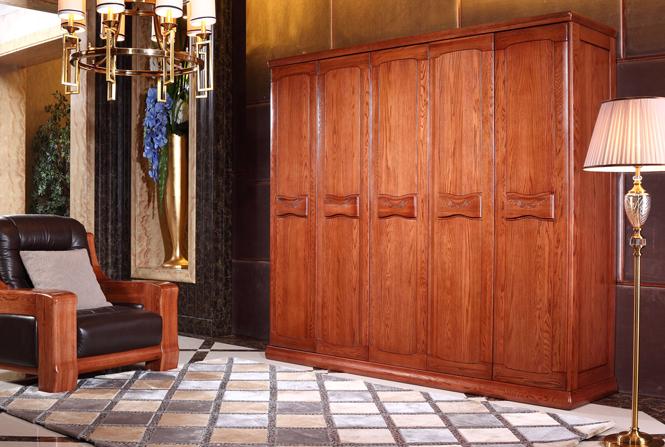 实木衣柜效果图 实木欧式衣柜设计   实木衣柜效果图 实木