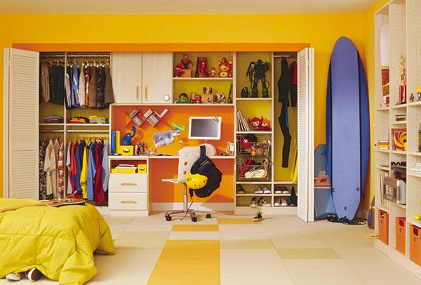 儿童卧室衣柜效果图 嵌入式衣柜设计图   衣柜图片   > 儿