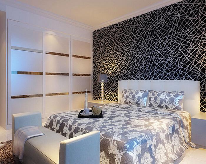 风格卧室 现代三门衣柜设计图