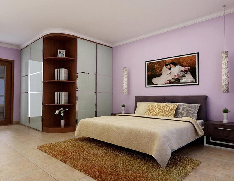现代移门衣柜效果图 现代风格乌木卧室衣柜图片