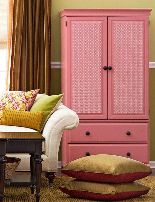 现代简约风格三门整体衣柜效果图