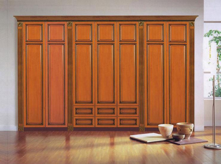 设计师力荐 欧式衣柜典雅让人陶醉 ,欧式古典风格实木衣柜图片 打造