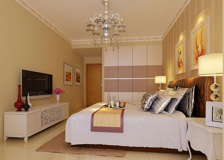 暖色现代家装 现代板式衣柜效果图