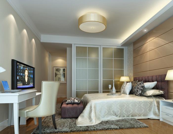 酒店式公寓衣柜效果图 给黄金单身汉家装