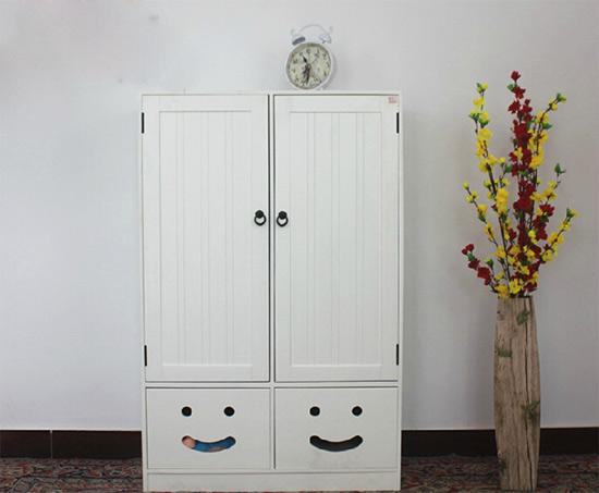多功能实木儿童衣柜图片