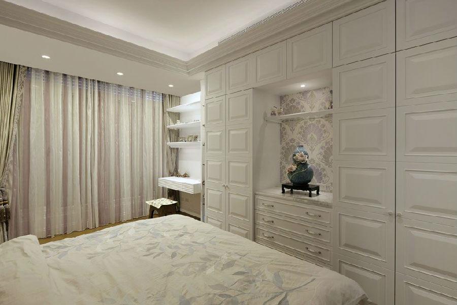 欧式风格整体衣柜效果图 营造家装中的贵族气质
