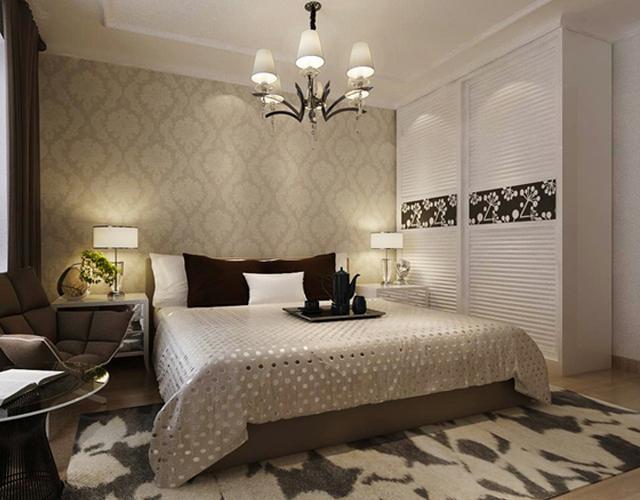 卧室白色衣柜图片